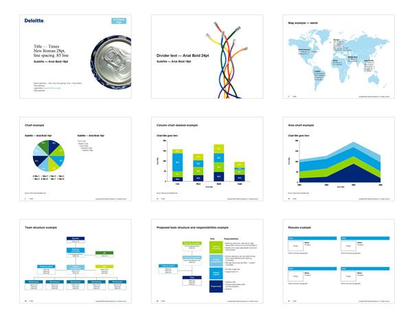 powerpoint portfolio template